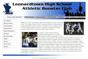 Leonardtown High School Athletic Boosters Club - Leonardtown, Maryland