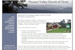 Pleasant Valley Church of Christ - Worshiping in Indiana, Pennsylvania