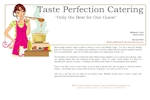 Taste Perfection Catering